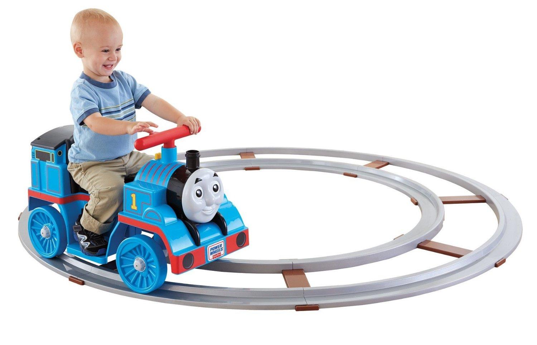 Power wheel Thomas Train with Track