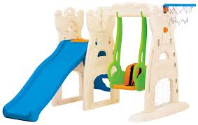Scramble & Slide Play Centre