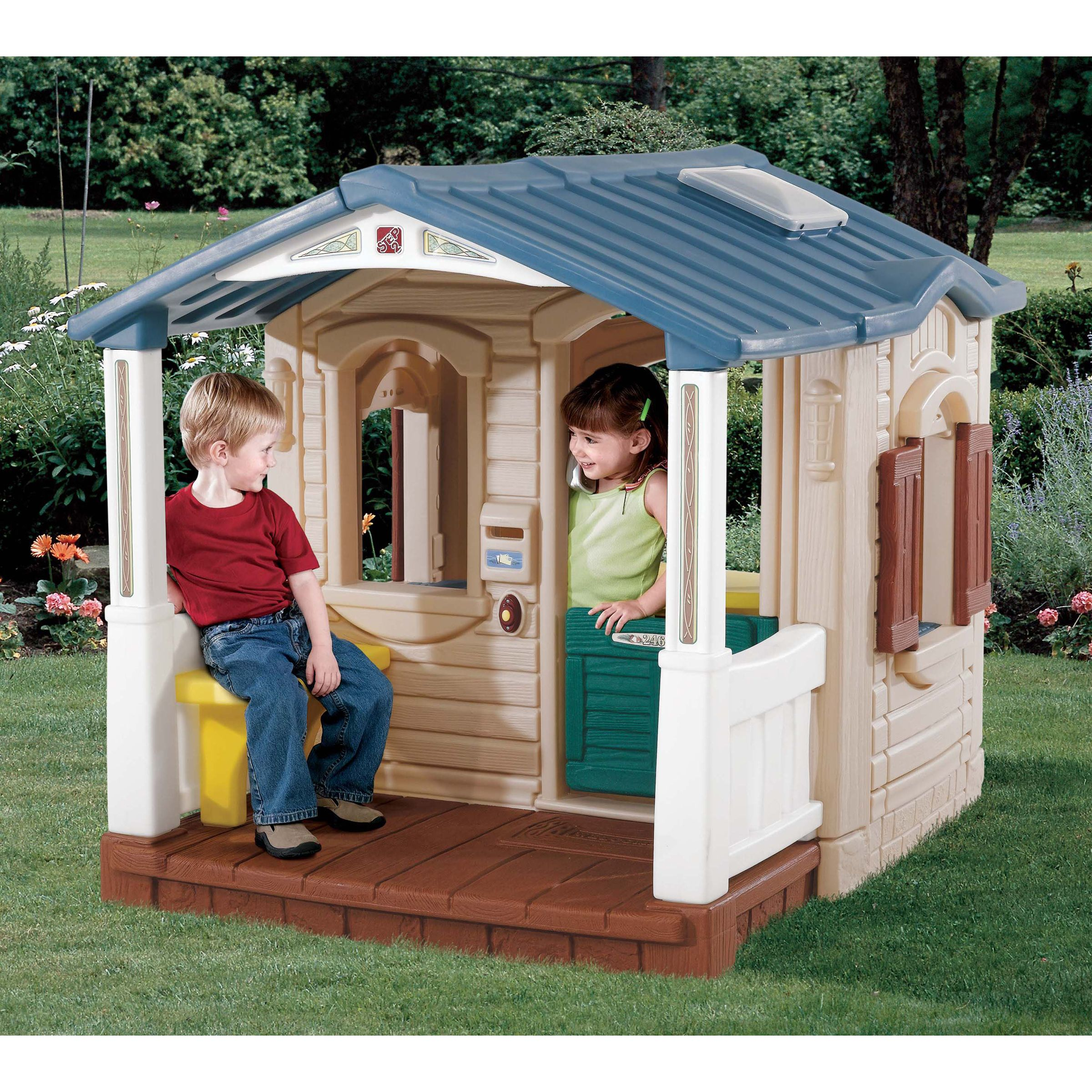 Naturally Playful Front Porch Playhouse