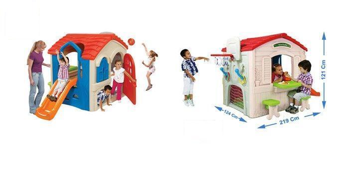 Wriggle & Slide Playhouse